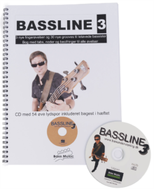 Bassline 3 (Nodebog + CD)