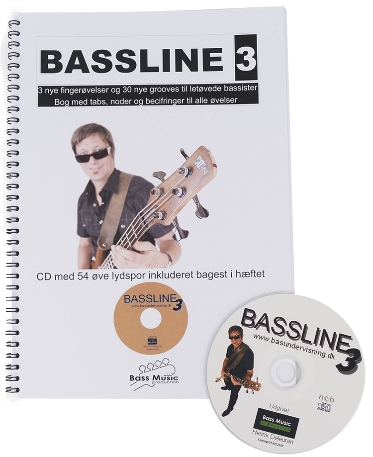 Bassline 3 (Nodebog + CD)