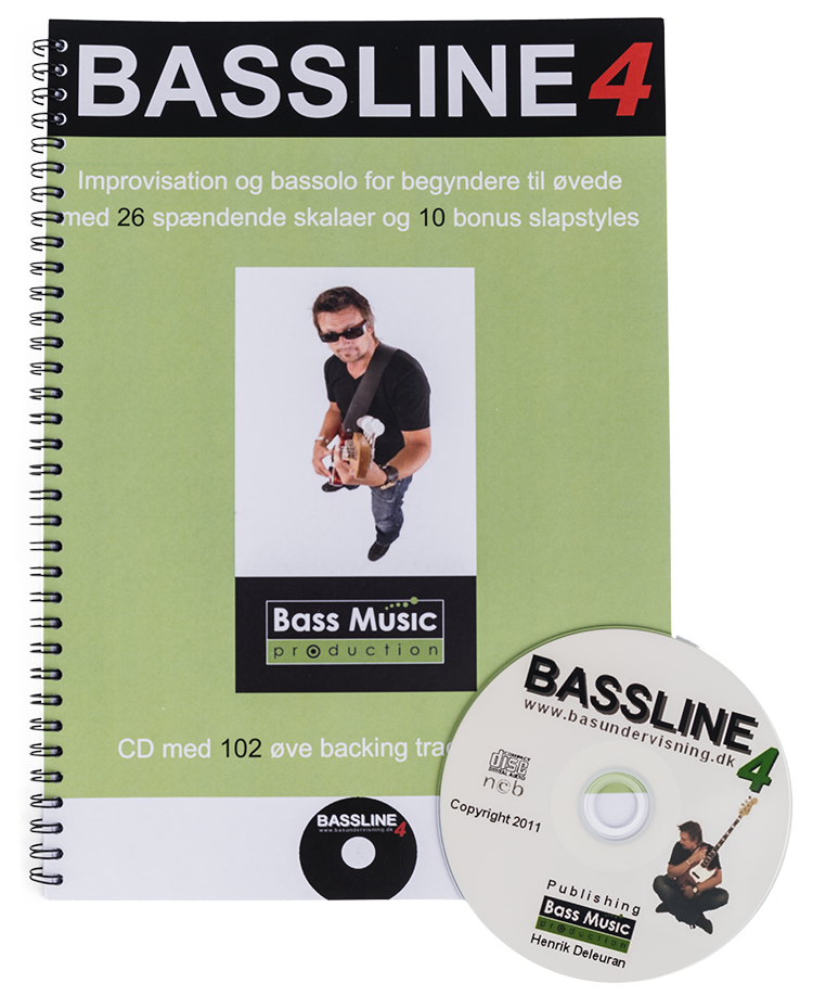Bassline 4 (Nodebog + CD)