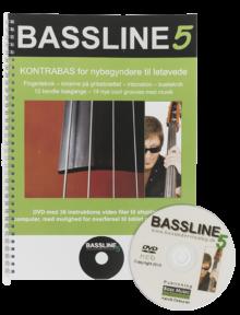 Bassline 5 (Nodebog + DVD)