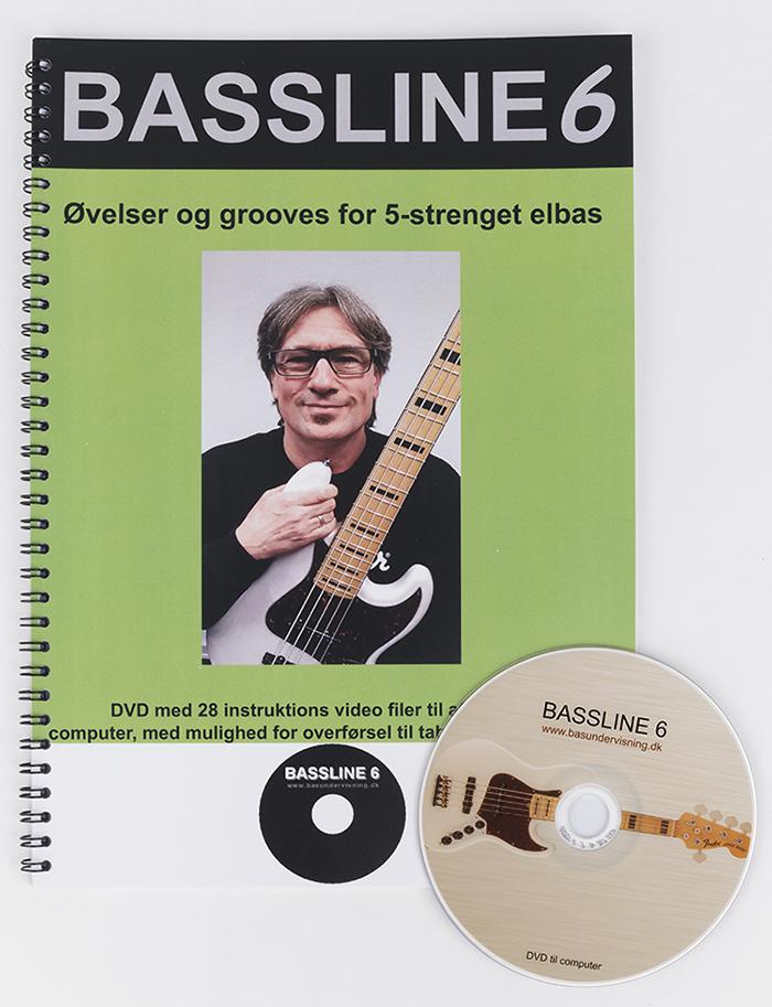 Bassline 6 (Nodebog + DVD)
