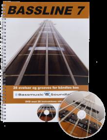 Bassline 7 (Nodebog + DVD)