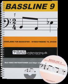 Bassline 9 (Nodebog + DVD)