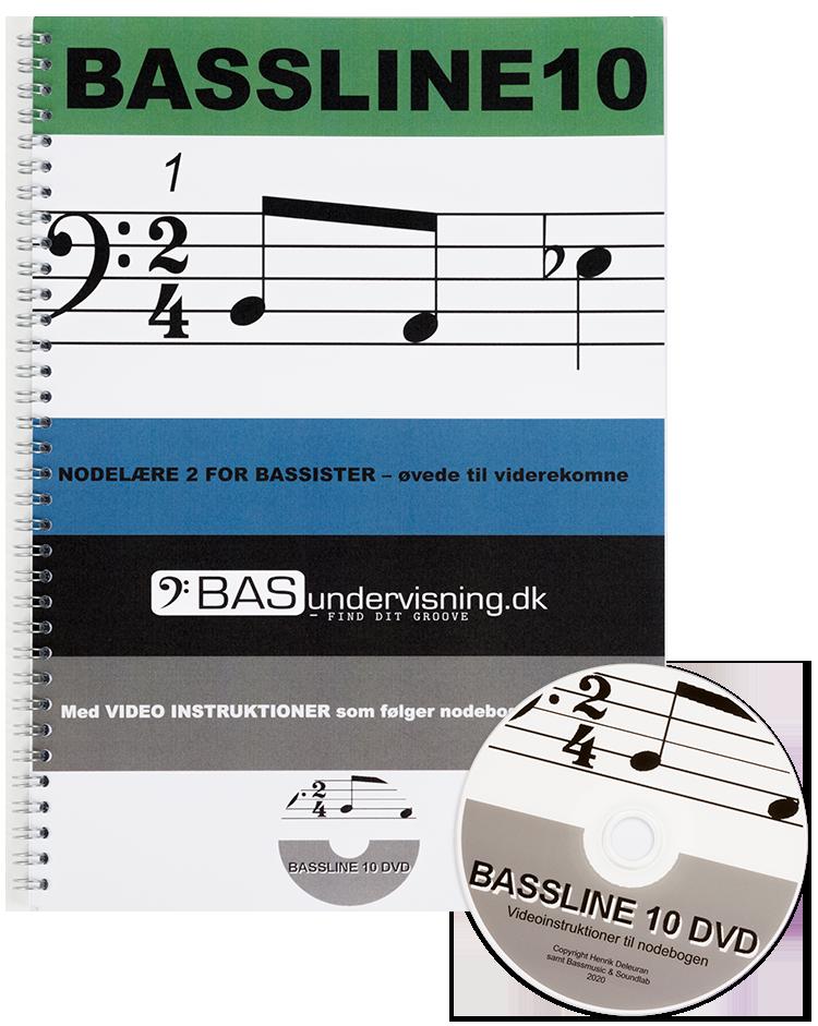 Bassline 10 (Nodebog + DVD)